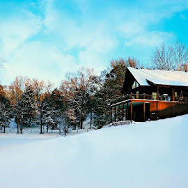 Snow Day by Tana Cannon - Buildings & Architecture Homes