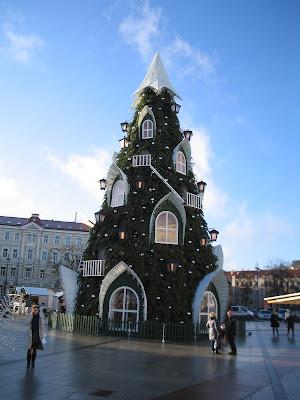 Новый 2016 год на Кафедральной площади в Вильнюсе