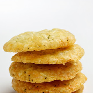 Lemon, Dill and Havarti Wafers