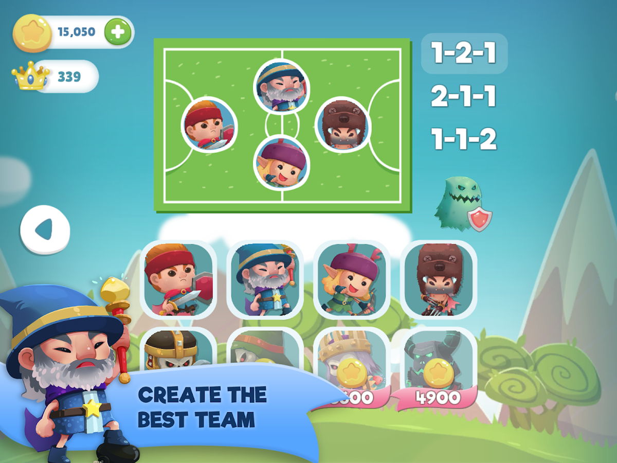 WIF Soccer Battles Screenshot 5