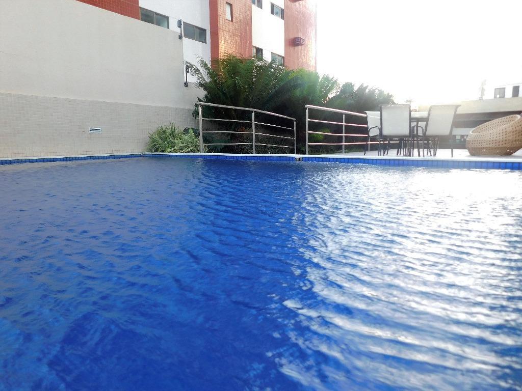 Apartamento residencial à venda, Jardim Oceania, João Pessoa - AP4673.