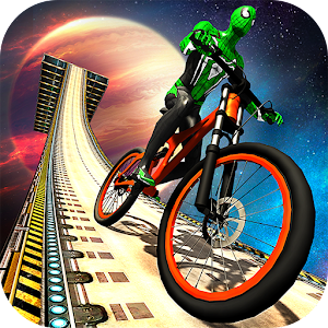 Impossible BMX Bicycle Superhero: Sky Tracks Rider For PC