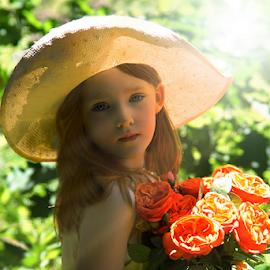 Country Sunshine by Cheryl Korotky - Babies & Children Child Portraits