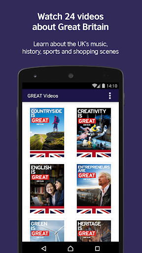 LearnEnglish GREAT Videos screenshot 1
