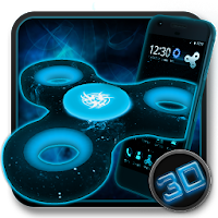 Fidget Spinner Space 3D Theme For PC Download (Windows 10,7/Mac)