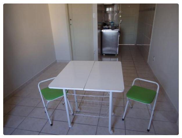 Kitnet com 1 dormitório para alugar, 25 m² por R$ 950/mês - Centro - São Vicente/SP