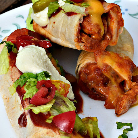 Baked Vegan Chimichangas