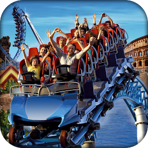 Download RollerCoaster Rush :Crazy Fastest Coaster Ride Sim For PC Windows and Mac