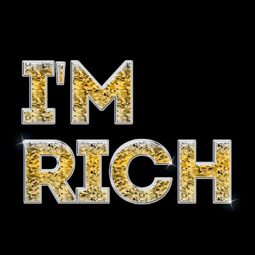 I will be Rich - I'm Rich - not expensive (app)