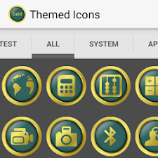Royal Gold Icon Pack - Green