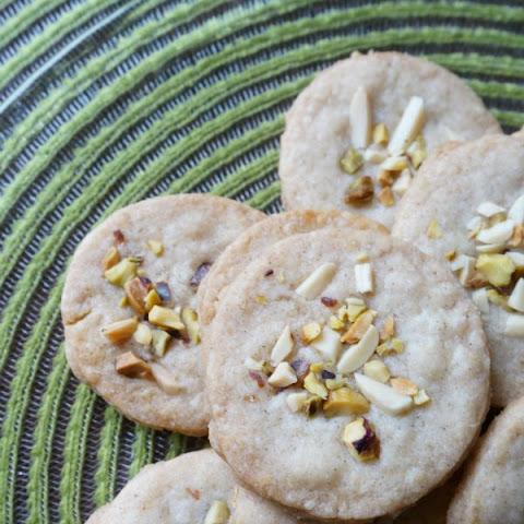 Diwali Cardamom Pistachio and Almond Cookies