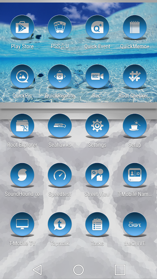 Daf Blue - Icon Pack Screenshot 4