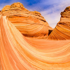 Rogue Wave by Ryan Moyer - Landscapes Deserts ( utah, arizona, kanab, desert, lines, landscape )