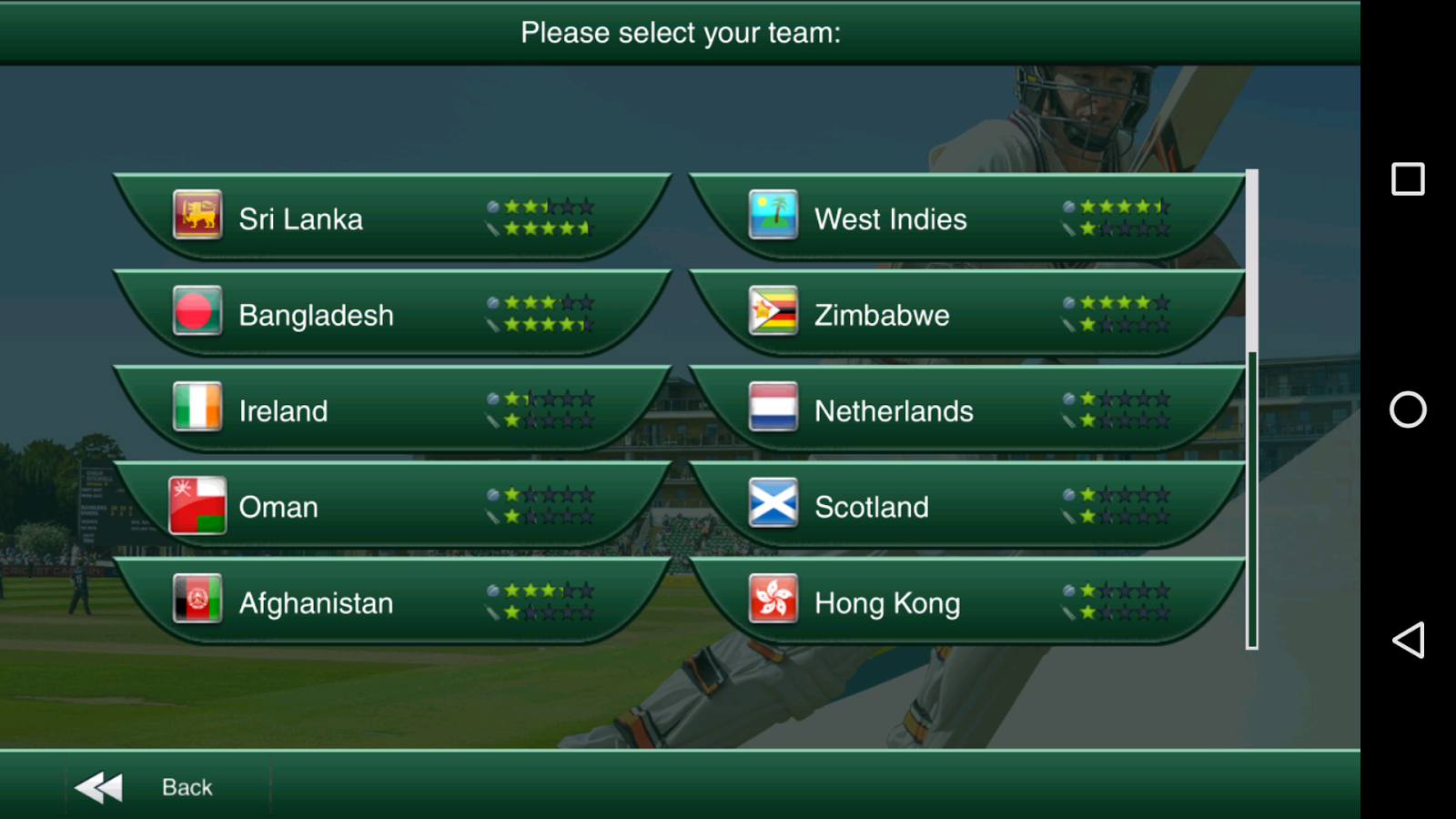 Cricket Captain 2016 Screenshot 5