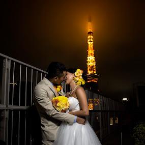 Just Married by Ketut Pujantara - People Couples