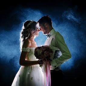 Breath me by Klaudia Klu - Wedding Bride & Groom