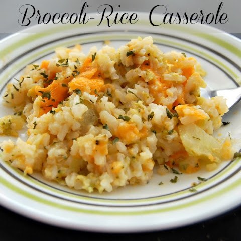 Broccoli-Rice Casserole