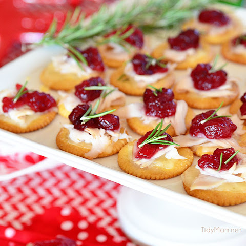Turkey Cranberry Toppers