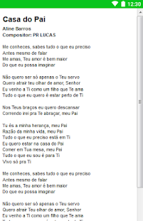Aline Barros Letras - screenshot
