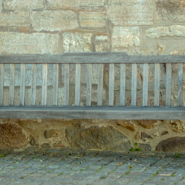 An old bench by Anitta Lieko - Artistic Objects Furniture