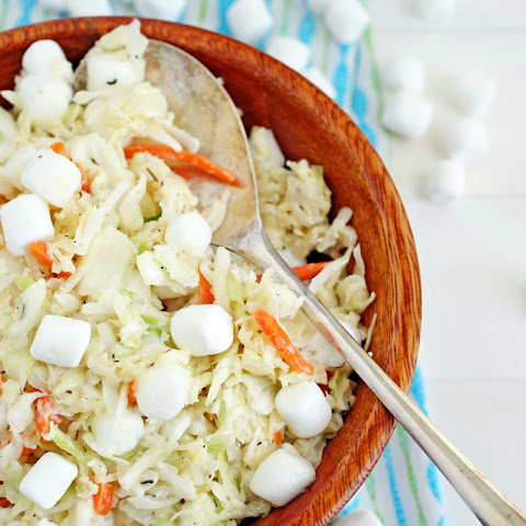 Pineapple Marshmallow Cole Slaw