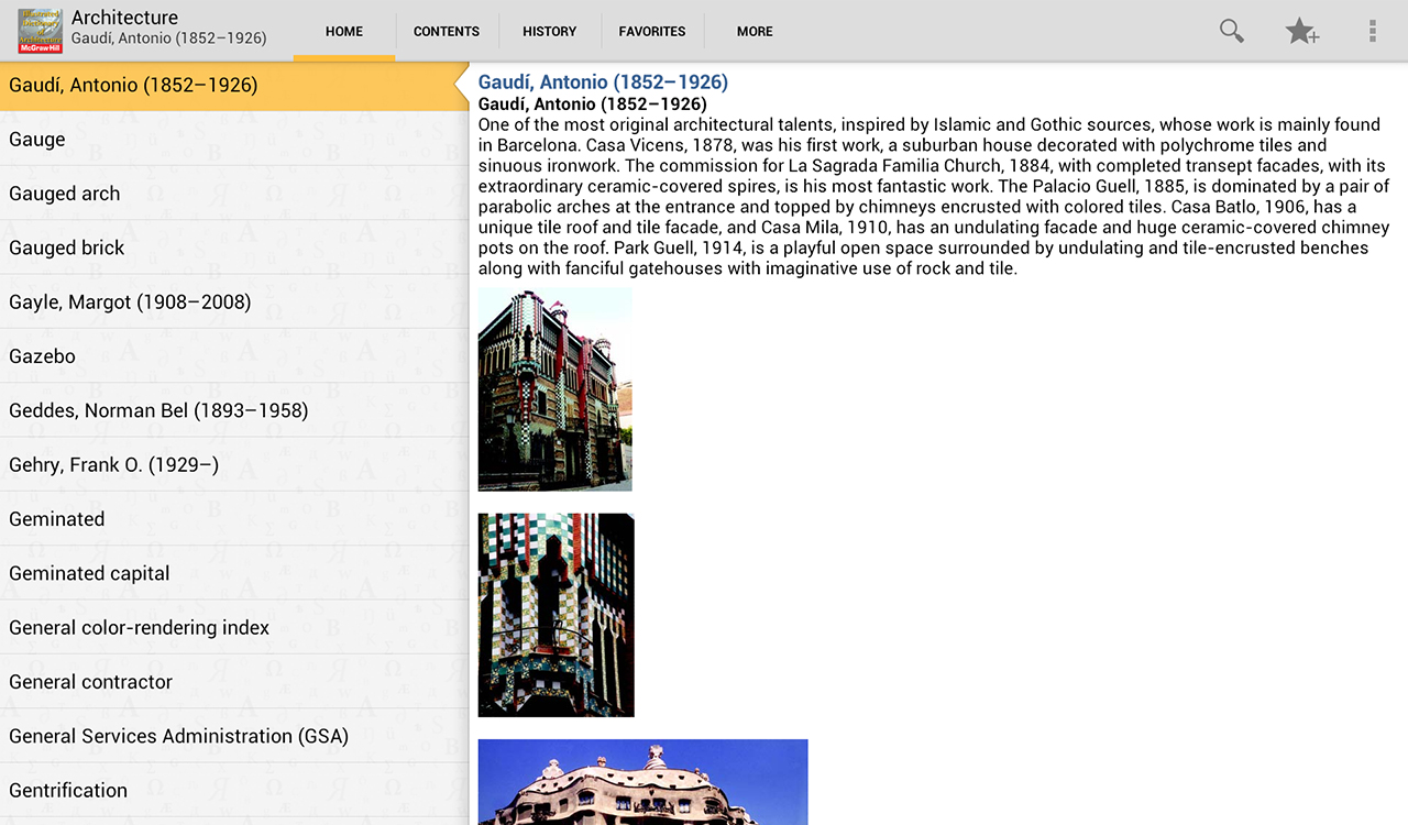 Dictionary of Architecture TR Screenshot 7