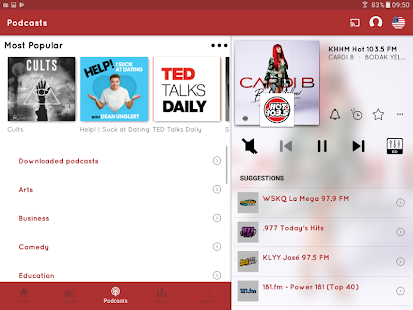 App myTuner Radio App - Free FM Radio Station Tuner APK for Windows Phone