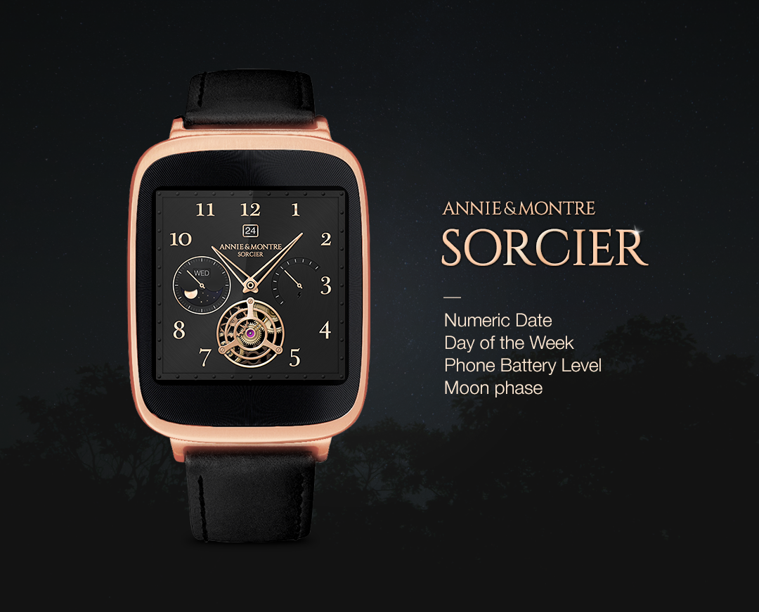 Sorcier watchface by Annie&Mon Screenshot 2