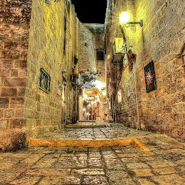 Jaffa by Dong Leoj - City,  Street & Park  Neighborhoods ( street&park, neighborhoods, city )