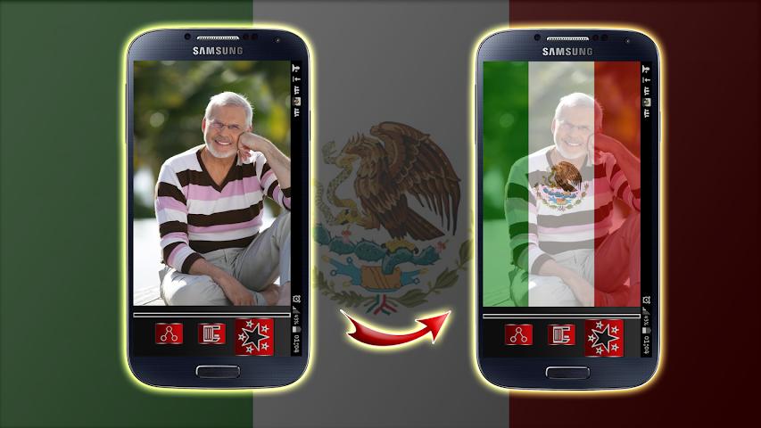 android Mexico Flag Profile Picture Screenshot 2