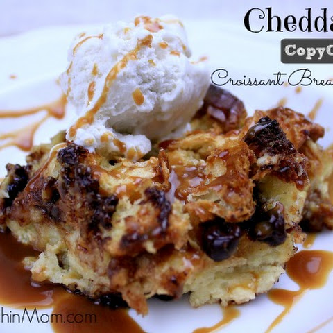 Cheddar's Copycat Croissant Bread Pudding
