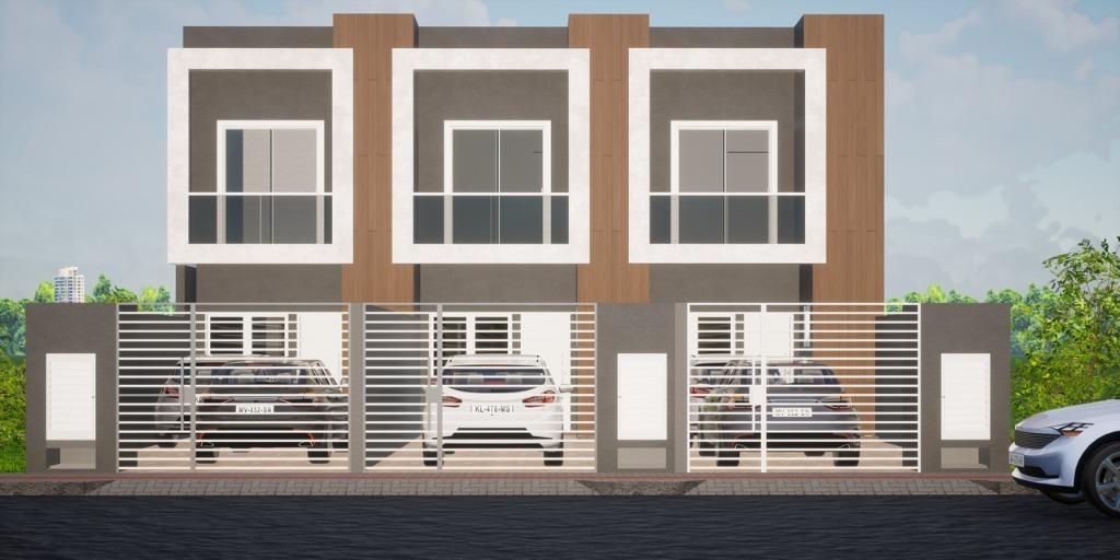 Sobrado com 2 suítes, 2 vagas de garagem à venda, 77 m² por R$ 310.000 - Morretes - Itapema/SC