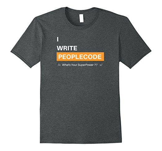 I Write PeopleCode