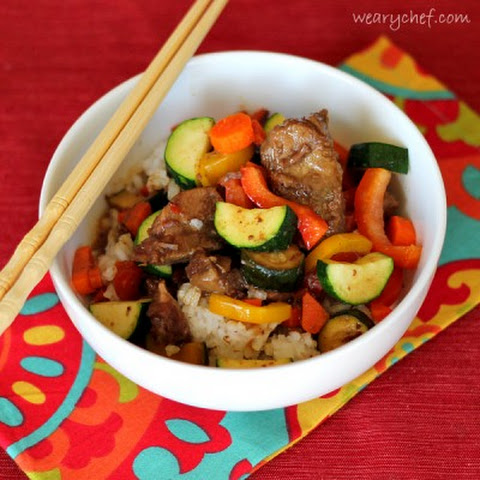 Slow Cooker Asian Beef with Vegetables