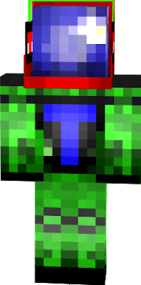 this is my minecraft universe skin with my own twist