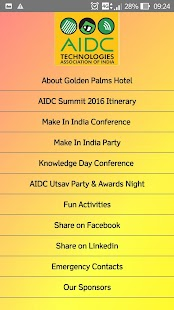 AIDC Utsav - screenshot