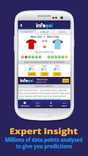 Infogol Football App - screenshot