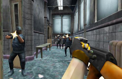 Real Commando Strike:Hospital Rescue apk screenshot