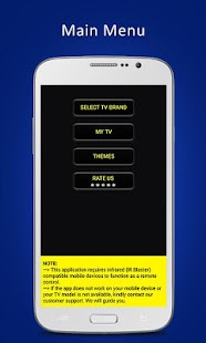 Universal TV Remote Control- screenshot thumbnail