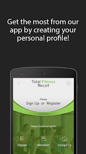 Total Fitness Recall - screenshot