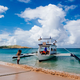 by Victor Roman - Transportation Boats ( calaguas island, paracale, nikon d300, beach, boat )