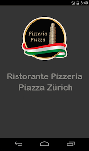 Pizzeria Piazza Zürich - screenshot