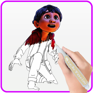 How To Color COCO Coloring Book For Adult 2 For PC