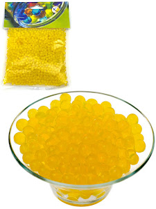 Гидрогелевые шарики S, желтые