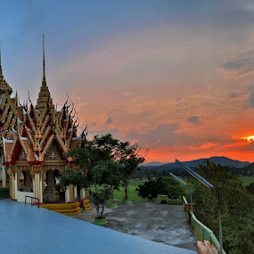 Wat Tham Suea by Reinhard Latzke - Landscapes Travel ( wat tham suea )