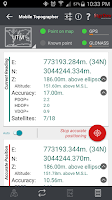 Screenshot of Mobile Topographer Free
