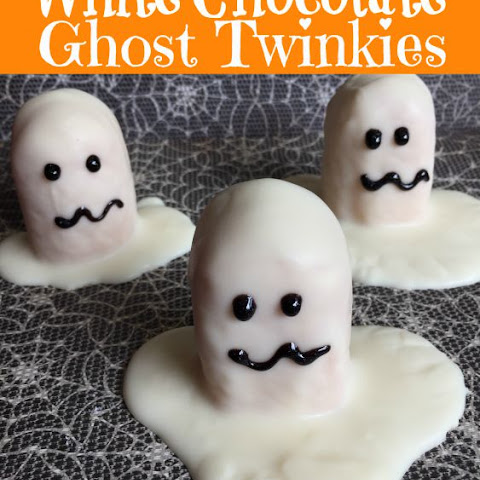 White Chocolate Ghost Twinkies