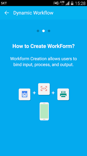 Dynamic Workflow Mobile Android App Screenshot