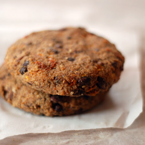 Adzuki Bean and Sun-Dried Tomato Burgers