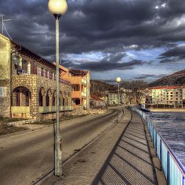 walk by Branislav Rupar - City,  Street & Park  Street Scenes